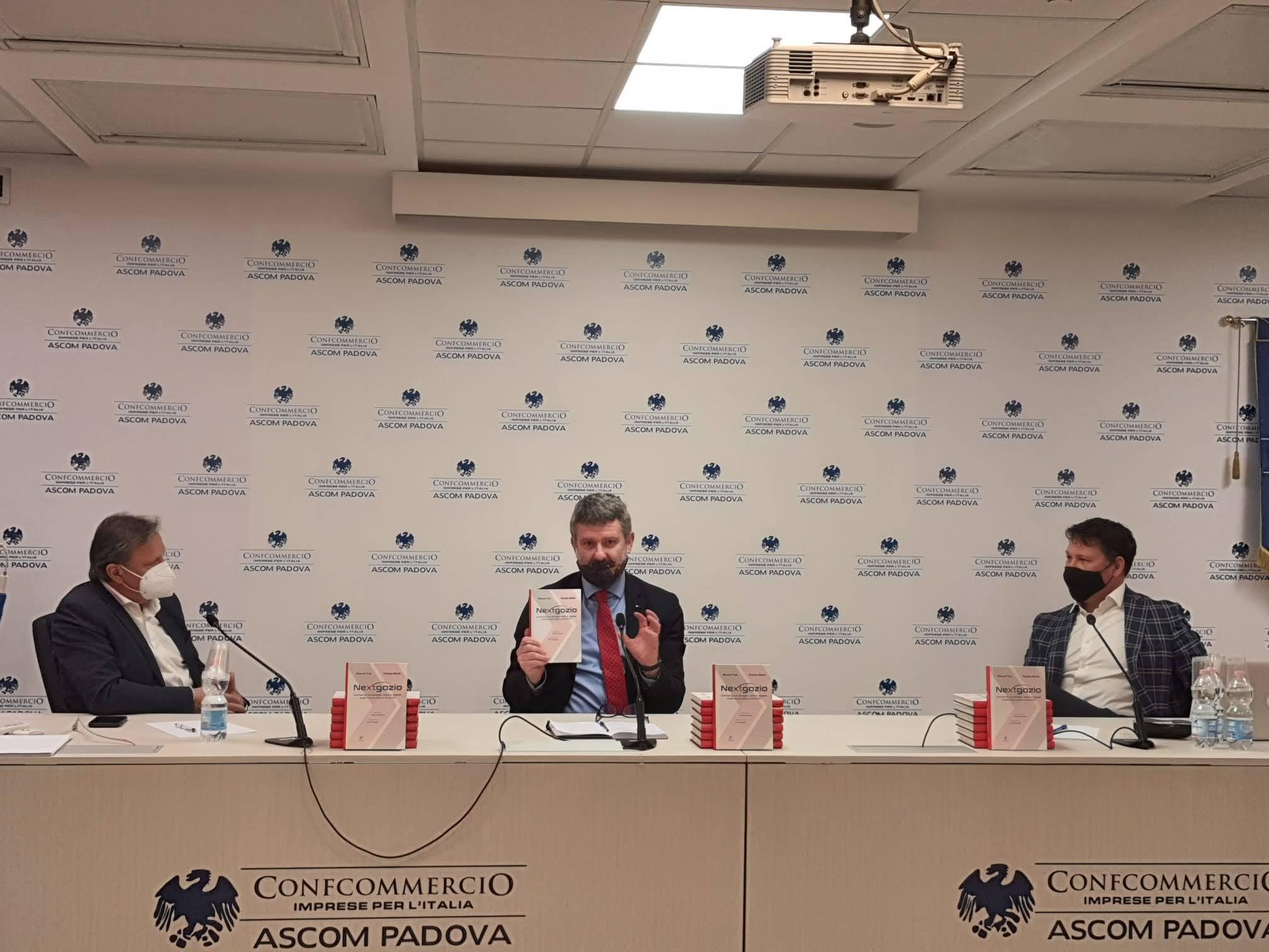 Manuel Faè Paolo Gubitta Patrizio Bertin Libro Nextgozio presentazione